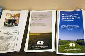 Iowa Machine Shed Menu by Pioneering Iowa Sustainable Agriculture Research Center Survives