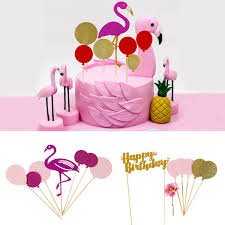 Details About Cake Topper Baby Shower Happy Birthday Party Cupcake Food Dessert Decor Supply