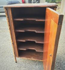 ANTIQUE RECORD CABINET I THINK
