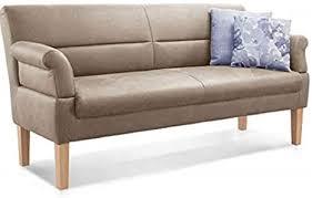 cavadore 2 5 sitzer sitzbank für küche esszimmer oder wohnküche in lederoptik inkl armteilverstellung und federkern 168 x 94 x 81