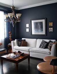 ApartmentModern Classic Black Apartment Living Room Design Ideas