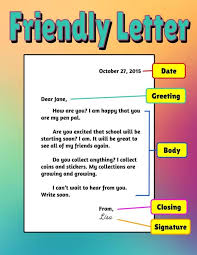 Friendly Letter CCS Tech Site