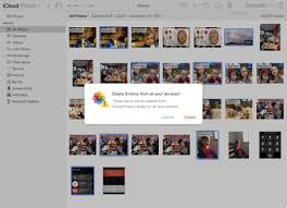 How to delete multiple pictures at once in iCloud Library