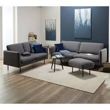 sofa dianalund 2 sitzer grau