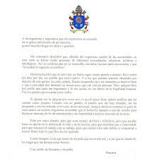 La Carta Que Francisco Quiso Convertir En Su Mensaje Más