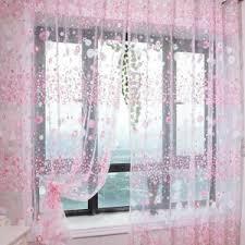 rideau pour chambre fille vococal rideaux la voile floral porte rideau fenêtre chambre