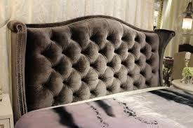 Blue Velvet King Headboard by Bedroom Furniture Metal Bed Frame Mounted Ceiling Storage Design