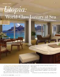 100 Utopia Residences Calamo Affluent Page Features World Class Luxury At Sea