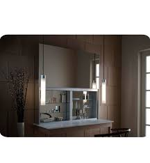 robern uc4827fp uplift 48 customizable medicine cabinet with led