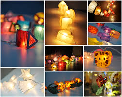 Handmade Paper Lantern String Lights