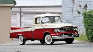 100 1959 Dodge Truck D100 Sweptside Pickup Retro Vintage Truck Mopar Wallpaper