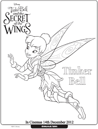 Tinkerbell Coloring Pages Printable