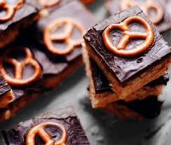 rezept schokolade brezel kuchen mit karamell