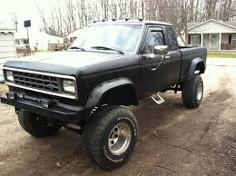1986 Lifted Ford Ranger Mine Was Brown! | Ford Ranger | Pinterest ...