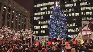 Nbc Christmas Tree Lighting 2014 by Chicago U0027s Official Christmas Tree Will Move To Millennium Park