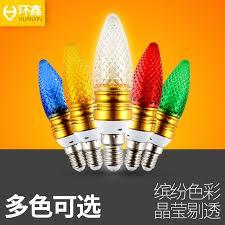 usd 8 02 led colored light bulbs e14 small e27 candle bulb