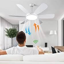 albrillo led deckenventilator mit beleuchtung 91w leise ventilator mit licht 3 farbtemperatur 6 windgeschwindigkeit auswählbar timer