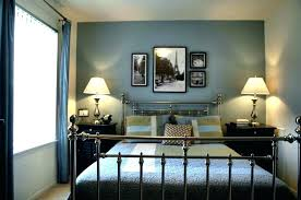 Dark Grey Accent Wall Gray Room With Bedroom Blue Accents Best Wonderful Light Dining