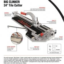brutus professional 24 inch tile cutter tools products the