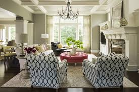 Transitional Living Room Leather Sofa by Ivory Linen Sofa With Dove Gray Leather Ottoman Transitional
