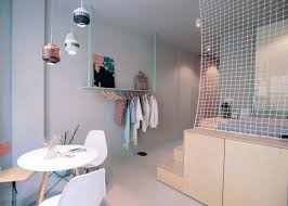 Stylish And Minimalist Micro-apartment Makes The Most Of Small ... Apartment Kitchen Decorating Ideas Tinderbooztcom 9 Smallspace To Steal From A Tiny Paris Living Room Design L The Janeti Small Ding And Best 25 Loft Apartments Ideas On Pinterest Furnishing Apartments Easy Way Village Confidential 4 Showcase Flexibility Of Compact Apartment 250sqft Studio Httpaatiguerrawordpresscom20100903ikea Ravishing Studio With Clever Efficient In Warsaw Tasteful Simple Decor Idesignarch