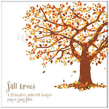 Autumn Tree Clip Art 75