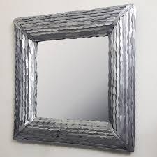 casa padrino designer wandspiegel silber 85 x 85 cm wohnzimmer spiegel