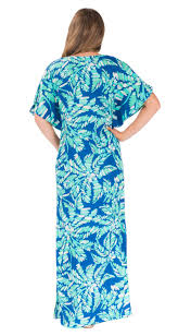 short sleeve roselyn dress cover up aegean blue shamrock