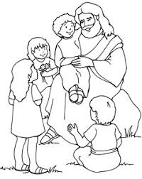 20 Jesus Coloring Pages For Kids Printable Treats