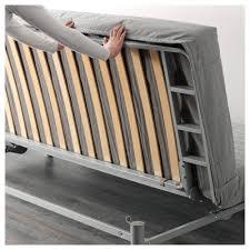 Beddinge Sofa Bed Slipcover Ransta Dark Gray by Beddinge Lövås Three Seat Sofa Bed Knisa Light Grey Ikea