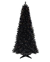 4 Ft Pre Lit Potted Christmas Tree by Black Christmas Trees Treetopia