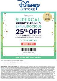 Pinned July 16th: 25% Off At #DisneyStore Or Online Via ...