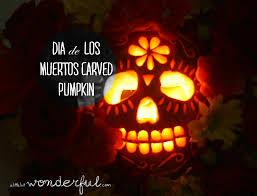 Totoro Pumpkin Carving Patterns by Day Of The Dead Pumpkin Crazy Ween Pinterest Zucche Libro E T