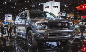 2018 Toyota Sequoia Photos And Info | News | Car And Driver Toyotas Biggest Suv Still Fills The Bill Wheelsca New 2018 Toyota Sequoia Sr5 In Nashville Tn Near Murfreesboro Preowned 2008 Sport Utility Orem B3948c Wheels Custom Rim And Tire Packages Inside Stunning 2016 Used Toyota Sequoia Platinum 4x41 Owner Local Canucks Trucks What Is Best At Will It Updates Tundra And Adds Available Trd Go Aggressive The Drive For Sale Scarborough 2018toyotasequoia Fast Lane Truck 2011 Platinum Red Deer 2017 Limited 4d