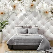 details zu vlies fototapete tapete wand schlafzimmer wohnzimmer lilie holz optik 2motiv