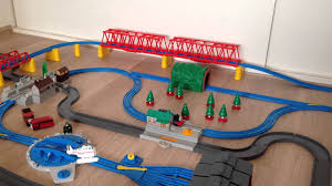 Thomas Tidmouth Sheds Deluxe Set by Thomas De Trein Massive Trackmaster Set Youtube