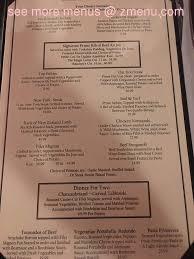 line Menu of Magic Lamp Inn Restaurant Rancho Cucamonga