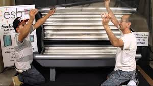 bedding esb tanning bed canopy acrylic removal and re installation