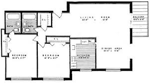 2 Bedroom 2 Bath Dorchester Towers