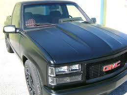 100 1994 Gmc Truck GMC SIERRA SLE STEPSIDE CUSTOM PICKUP RAT ROD BLACK V6 TRUCK