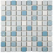 merola tile crystalline square blue 11 3 4 in x 11 3 4 in x 5 mm