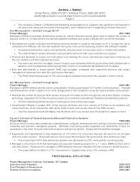 Program Manager Resume Objective Project Management Objectives Examples