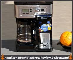 Hamilton Beach FlexBrew 2 Way Coffeemaker