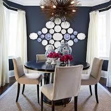 Navy Blue Dining Room