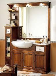 rustikales badezimmermöbel preis maße farbe nussfarben ein