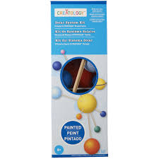 Michaels Art Desk Instructions by Creatology Painted Solar System Kit