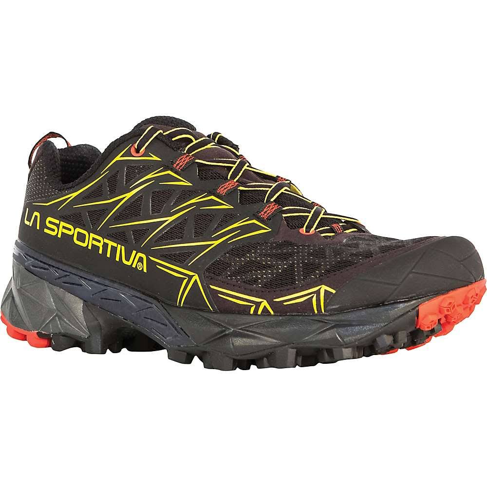 La Sportiva Men's Akyra Trail-Running Shoes - Black, EU44.5