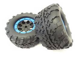 100 Truck Tires And Wheels 18 Scale Monster Mounted With 17mm Hex