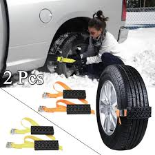 100 Snow Chains For Trucks Universal Automobile Tyre Anti Skid Chain Autocar