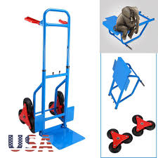 440LB HEAVY DUTY Stair Climbing Moving Dolly Hand Truck Warehouse ...